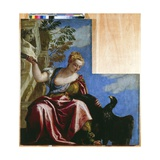 Moderation, 1575-78 Giclee Print by Paolo Veronese