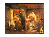 The Forge Giclee Print by Peder Severin Kröyer