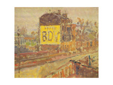 Hampstead Road, c.1910-11 Giclee Print by Harold Gilman