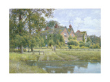 On the Ouse at Hemingford Grey, 1890 Giclee Print by William Fraser Garden