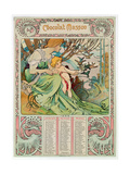 Childhood, 1897 Giclee Print by Alphonse Mucha