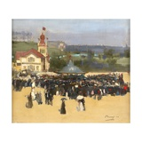 The Blue Hungarians, 1888 Giclee Print by Sir John Lavery