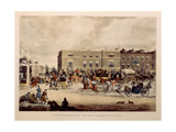 The Elephant and Castle on the Brighton Road, 1826 Giclee Print by James Pollard