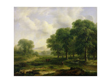 The Trout Stream, 1828 Giclee Print by James Arthur O'Connor