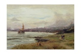 Dundee from the East, 1890 Giclee Print by David Farquharson