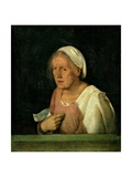 La Vecchia (The Old Woman) after 1505 Giclee Print by  Giorgione