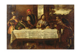 Supper at Emmaus, after Titian Giclee Print by William Etty