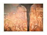 The Defence of Sziget, from the 'Slav Epic', 1914 Giclee Print by Alphonse Mucha