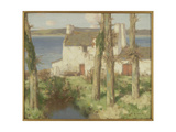 A Breton Village, c.1895 Giclee Print by David Gauld
