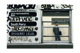 My Father in the Subway III, 1982 Giclee Print by Max Ferguson