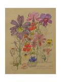 Butterfly Flower, Bowling, 1912 Giclée-Druck von Charles Rennie Mackintosh