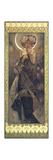 Alphonse Mucha - The Moon and the Stars: The Moon, 1902 Digitálně vytištěná reprodukce