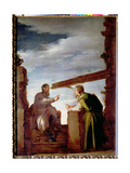 The Parable of the Mote and the Beam, c.1620 Giclee Print by Domenico Fetti or Feti