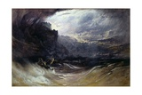Christ Stilleth the Tempest, 1852 Giclee Print by John Martin