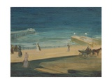 On the Pier, Brighton Giclee Print by Charles Edward Conder