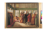 Reception of the French Ambassador by the Grand Vizier in Constantinople Giclee Print by Francis Smith
