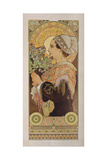 Thistle from the Sands, 1902 Giclee Print by Alphonse Marie Mucha