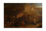 Battle of Tubabecelong, 1866 Giclee Print by Chevalier Louis-William Desanges