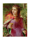 The King's Daughter Giclee Print by Anthony Frederick Augustus Sandys