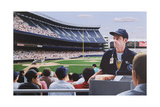 Yankee Stadium, 1992 Giclee Print by Max Ferguson