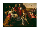 The Deposition Giclee Print by  Palma Il Giovane