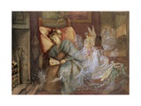 The Dream Giclee Print by John Anster Fitzgerald