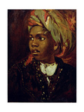 Study of a Negro Boy Giclee Print by William Etty
