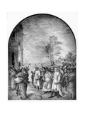The Arrival of the Magi Giclee Print by Andrea del Sarto