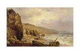 Cornelian Bay, Scarborough, 1878 Giclee Print by Edward Henry Holder