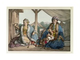 Voyage to Athens and Constantinople: Ismael, Bey and Mehemet, Pasha, c.1819 Giclee Print by Louis Dupré