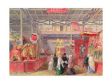 The Indian Court and Elephant Trappings, the Great Exhibition, 1851 Giclee Print by Walter Goodall