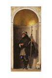 St. Sinibaldus, from an Organ Shutter from the Church of San Bartolomeo, 1508-09 Giclee Print by Sebastiano del Piombo