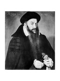 Portrait of Holbein, 1545 Giclee Print by German School