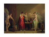 The Legend of Cupid and Psyche Lámina giclée por Angelica Kauffmann