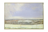 The Weald Winter Giclee Print by Charles Sims