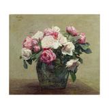 Roses Giclee Print by Ignace Henri Jean Fantin-Latour