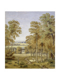 Oxford from Hinksey Ferry, 1852 Giclee Print by William Turner