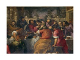 The Last Supper Giclee Print by  Palma Il Giovane