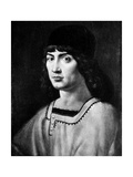 Self Portrait Giclée-tryk af Antonello da Messina