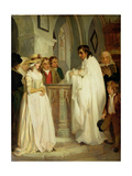 The Christening Giclee Print by Francis Wheatley