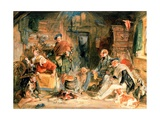 Highland Hospitality Giclee Print by John Frederick Lewis