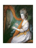 Portrait of Louisa, Lady Clarges, c.1778 Giclee Print by Thomas Gainsborough