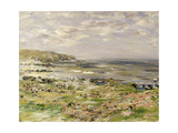 Study for the Preaching of St. Columba, Iona, Inner Hebrides Giclee Print by William McTaggart