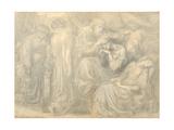 The Death of Lady Macbeth, c.1875 Giclee Print by Dante Gabriel Rossetti