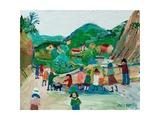 Roman Bridge, Vaison, 2003 Giclee Print by Fred Yates