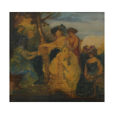 The Fortune Teller, 1890-1900 Giclee Print by Charles Edward Conder