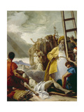 Stations of the Cross, 1747 Giclée-tryk af Giandomenico Tiepolo