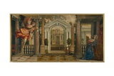 Annunciation Giclee Print by Paolo Veronese