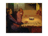 Mother and Child - Threads of Life, 1894 Gicleetryck av Frederick Cayley Robinson