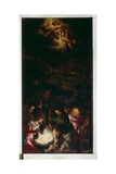 The Adoration of the Shepherds, c.1590 Giclee Print by Jacopo Bassano